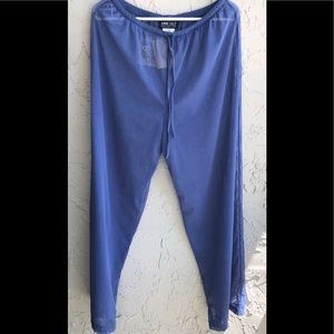 Anne Cole Mesh pants cover up Large NWT